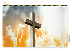 Carry-all Pouch featuring the photograph Salvation  by Aaron Berg