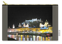 Salzburg At Night Carry-all Pouch