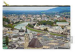Salzburg From Hohensalzburg Castle Carry-all Pouch