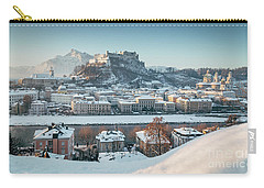 Salzburg Winter Morning Carry-all Pouch