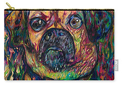 Sam The Dog Carry-all Pouch