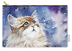 Sammy On Snow Carry-all Pouch