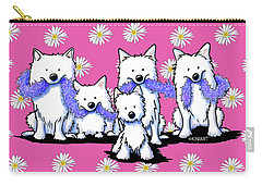 Sams And Westie Carry-all Pouch