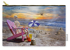 Sam's  Sandcastles Carry-all Pouch by Betsy Knapp