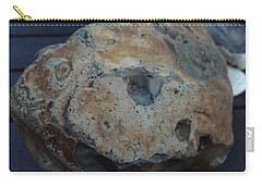 Carry-all Pouch featuring the photograph Samsoe Island  Stone Denmark  by Colette V Hera Guggenheim
