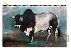 Samson The Master Champion Herd Sire Miniature Zebu Carry-all Pouch
