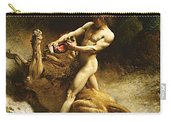 Samson's Youth Carry-all Pouch by Leon Joseph Florentin Bonnat