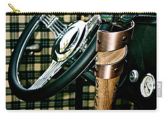 Carry-all Pouch featuring the photograph Samual Adams Winter Lager by Linda Bianic