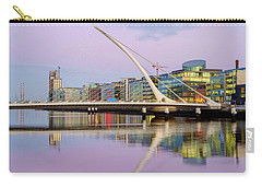 Samuel Beckett Bridge At Dusk Carry-all Pouch