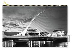 Samuel Beckett Bridge In Bw Carry-all Pouch