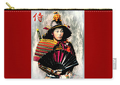 Samurai 1898 With Iron Fan Carry-all Pouch