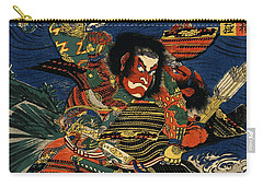 Samurai Warriors Battle 1819 Carry-all Pouch by Padre Art