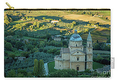 Carry-all Pouch featuring the photograph San Biagio Church by Brian Jannsen