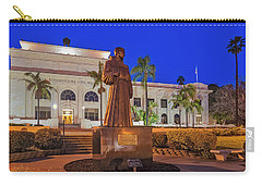 Carry-all Pouch featuring the photograph San Buenaventura City Hall by Susan Candelario