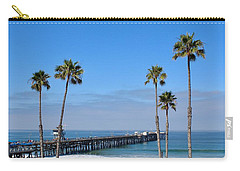 San Clemente Pier Carry-all Pouch