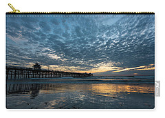 San Clemente Pier Sunset Carry-all Pouch