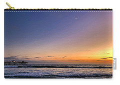Carry-all Pouch featuring the photograph San Clemente Sunset by Brian Eberly