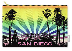 San Diego - Balboa Park Silhouette Carry-all Pouch