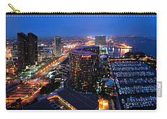 Carry-all Pouch featuring the photograph San Diego Bay by Lynn Geoffroy