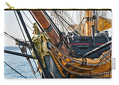 San Diego Embarcadero - Hms Surprise Figurehead Carry-all Pouch