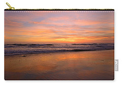 Carry-all Pouch featuring the photograph Cardiff Colors by John F Tsumas