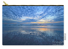 Carry-all Pouch featuring the photograph San Elijo Blue by John F Tsumas