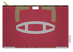 San Francisco 49ers Vintage Art Carry-all Pouch