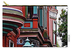 San Francisco Abstract Carry-all Pouch by Ira Shander
