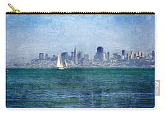 San Francisco Bay Carry-all Pouch by Serena King