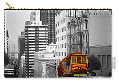 San Francisco - Red Cable Car Carry-all Pouch