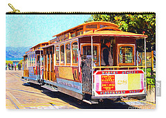 San Francisco Cablecar At Fishermans Wharf . 7d14097 Carry-all Pouch