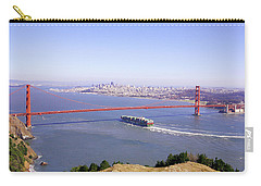 Carry-all Pouch featuring the photograph San Francisco - City By The Bay by Art Block Collections