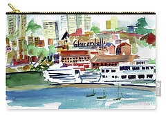 San Francisco Cityfront From Aquatic Park Carry-all Pouch