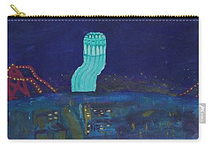 San Francisco Coit Tower Abstract Carry-all Pouch