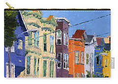 San Francisco Colorful Buildings Carry-all Pouch