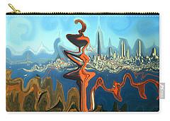 San Francisco Earthquake - Modern Art Carry-all Pouch