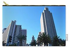 San Francisco Embarcadero Center Carry-all Pouch by Matt Harang