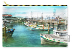 San Francisco Fishing Boats Carry-all Pouch
