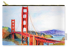 San Francisco Golden Gate Bridge Impressionism Carry-all Pouch