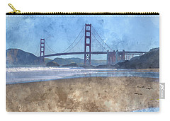 San Francisco Golden Gate Bridge In California Carry-all Pouch