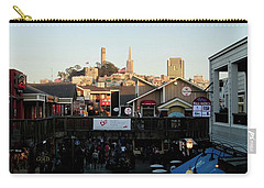 San Francisco In The Sun Carry-all Pouch