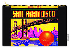 San Francisco Oranges Carry-all Pouch by Peter Gumaer Ogden
