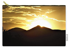 San Francisco Peaks At Sunset Carry-all Pouch