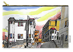 San Francisco Side Street Carry-all Pouch by Terry Banderas