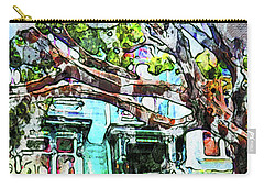 San Francisco Victorian Carry-all Pouch by Joan Reese