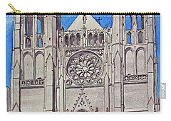 San Francisco's Grace Cathedral Carry-all Pouch by Mike Robles