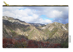 San Gabriel Mountains National Monument Carry-all Pouch by Kyle Hanson