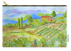 Vineyard At San Gimignano Carry-all Pouch
