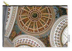 San Juan Capital Building Ceiling Carry-all Pouch by Lois Lepisto