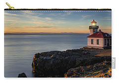 Carry-all Pouch featuring the photograph San Juan Island Serenity by Dan Mihai